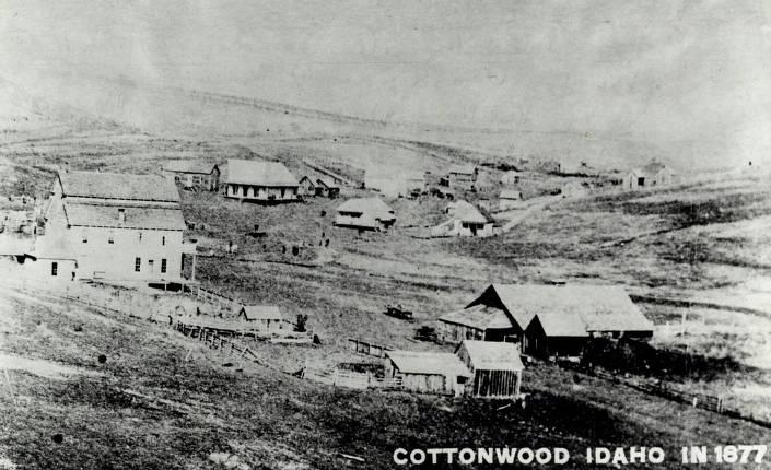 item thumbnail for Panoramic view of Cottonwood, Idaho.