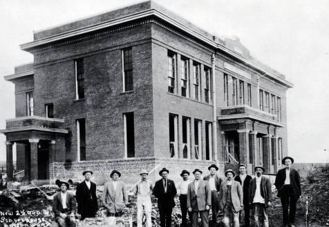 item thumbnail for Cottonwood Public School [under construction?]. Cottonwood, Idaho.