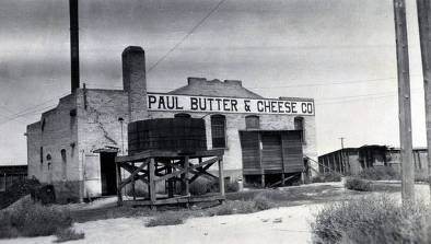 item thumbnail for Paul Butter and Cheese Co. Paul, Idaho.