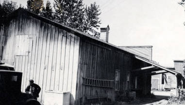 item thumbnail for Back and side of creamery. Bonners Ferry, Idaho.