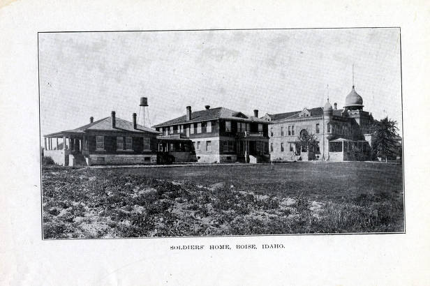 item thumbnail for Copy print from book of Soldiers Home. Boise, Idaho.