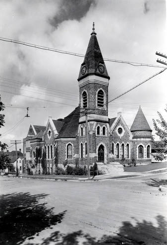item thumbnail for Methodist Church, 3rd and Adams Street. Moscow, Idaho.