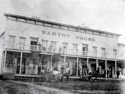 item thumbnail for Barton House. Hotel on corner of Main Street and 4th Street. Moscow, Idaho.