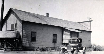 item thumbnail for Exterior view of side of Creamery. Grace, Idaho.