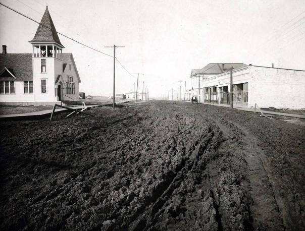 item thumbnail for West end of Main Street. Grangeville, Idaho.
