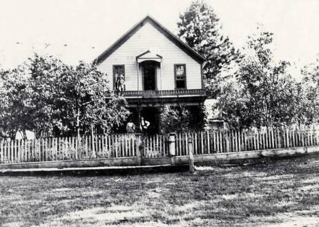 item thumbnail for Judge Joseph K. Vincent home (1822- ). Mount Idaho. Idaho.