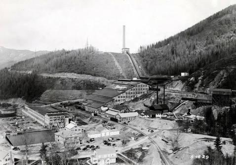 item thumbnail for Tainton Electrolytic Zinc Plant. Sullivan Mining Company. Kellogg, Idaho.