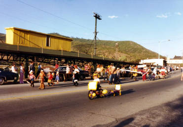item thumbnail for Children's Parade. Old Miner's Day Parade. Kellogg, Idaho.