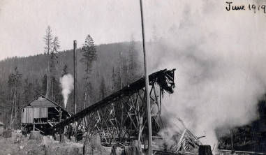 item thumbnail for Schmidt Brothers Lumber Co. sawmill. Eileen, Idaho.