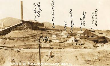 item thumbnail for Bunker Hill and Sullivan Company Smelter. Kellogg, Idaho