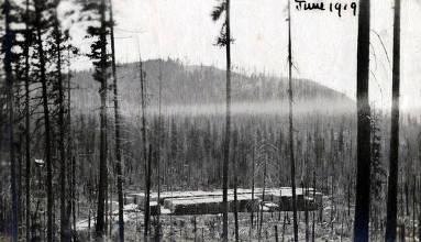 item thumbnail for Schmidt Brothers Lumber Co. lumber yard. Eileen, Idaho.