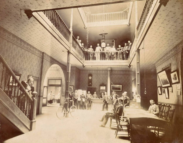 item thumbnail for Interior view of Moscow Hotel (1891- ). Moscow, Idaho.