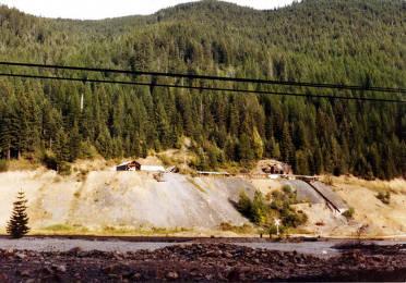 item thumbnail for Old mine on east ridge of Burke Canyon. Idaho.