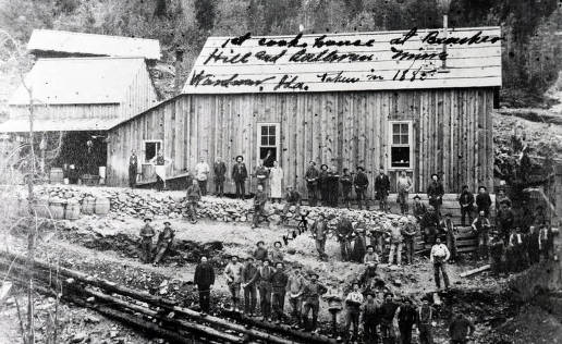 item thumbnail for Cookhouse at Bunker Hill and Sullivan Mines. Wardner, Idaho.