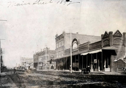 item thumbnail for Main Street from intersection of Main and 5th. Moscow, Idaho.