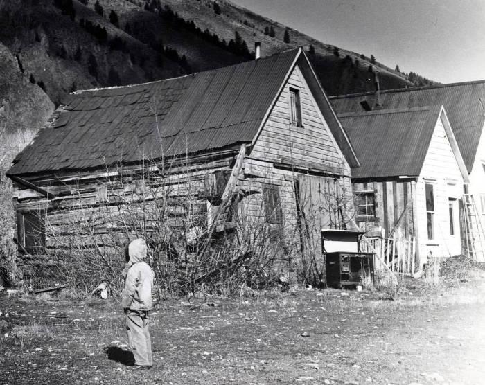item thumbnail for Miner's cabin. Hailey, Idaho.