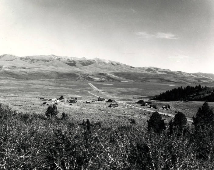 item thumbnail for Panoramic view of Gilmore, Idaho.