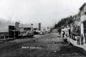 item thumbnail for Main Street. Stites, Idaho.