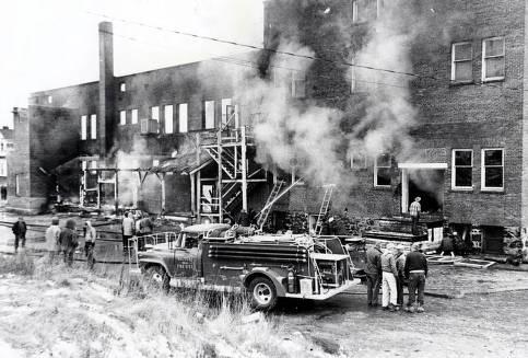 item thumbnail for Fire at Potlatch Mercantile. Potlatch, Idaho.