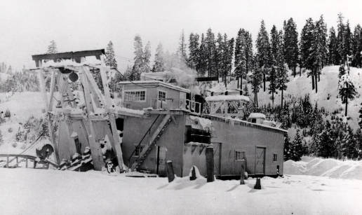 item thumbnail for Risdon dredge. Operated by Boston and Gold Dredging Company near Idaho City.