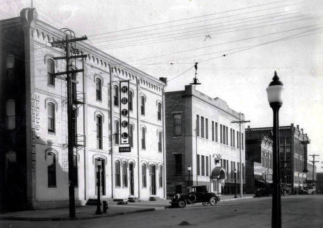 item thumbnail for Main Street from intersection of A and Main Streets. Moscow, Idaho