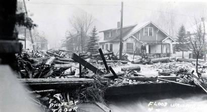 item thumbnail for Placer Creek Flood. Wallace, Idaho.