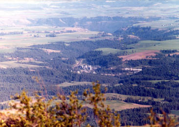 item thumbnail for Panoramic view of Troy, Idaho.