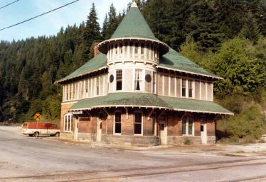 item thumbnail for Northern Pacific Railroad station. Wallace, Idaho.