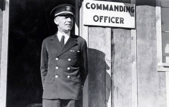 item thumbnail for Commanding officer of CCC camp-Camp Harry Marsh, F-30, Co. 967. Prichard, Idaho.