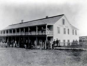 item thumbnail for Challis House on Main Street above Legion hall. Challis, Idaho.