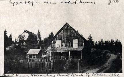 item thumbnail for First courthouse in Idaho (1861- ). Pierce, Idaho.