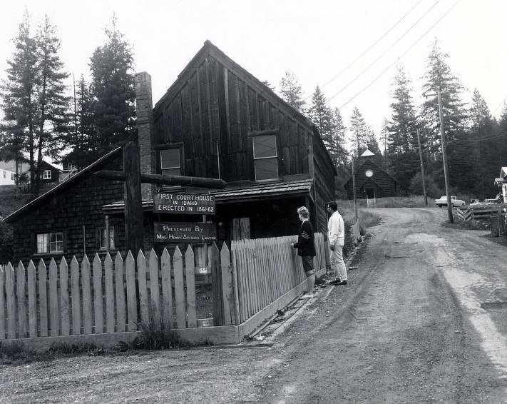 item thumbnail for Shoshone County Courthouse (1861- ). Pierce, Idaho.