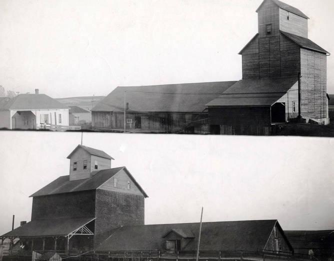 item thumbnail for Genesee grain elevator and warehouse. Genesee, Idaho.