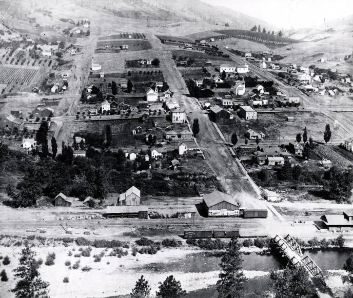 item thumbnail for Portion of Juliaetta, Idaho showing brewery site.