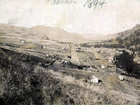 item thumbnail for Panoramic view of Juliaetta, Idaho.
