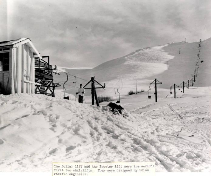 item thumbnail for Dollar Mountain Lift. Sun Valley, Idaho.