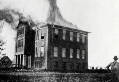 item thumbnail for Vollmer School fire. Vollmer, Idaho.