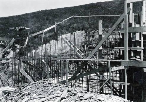 item thumbnail for Troy Reservoir under construction. Troy, Idaho.