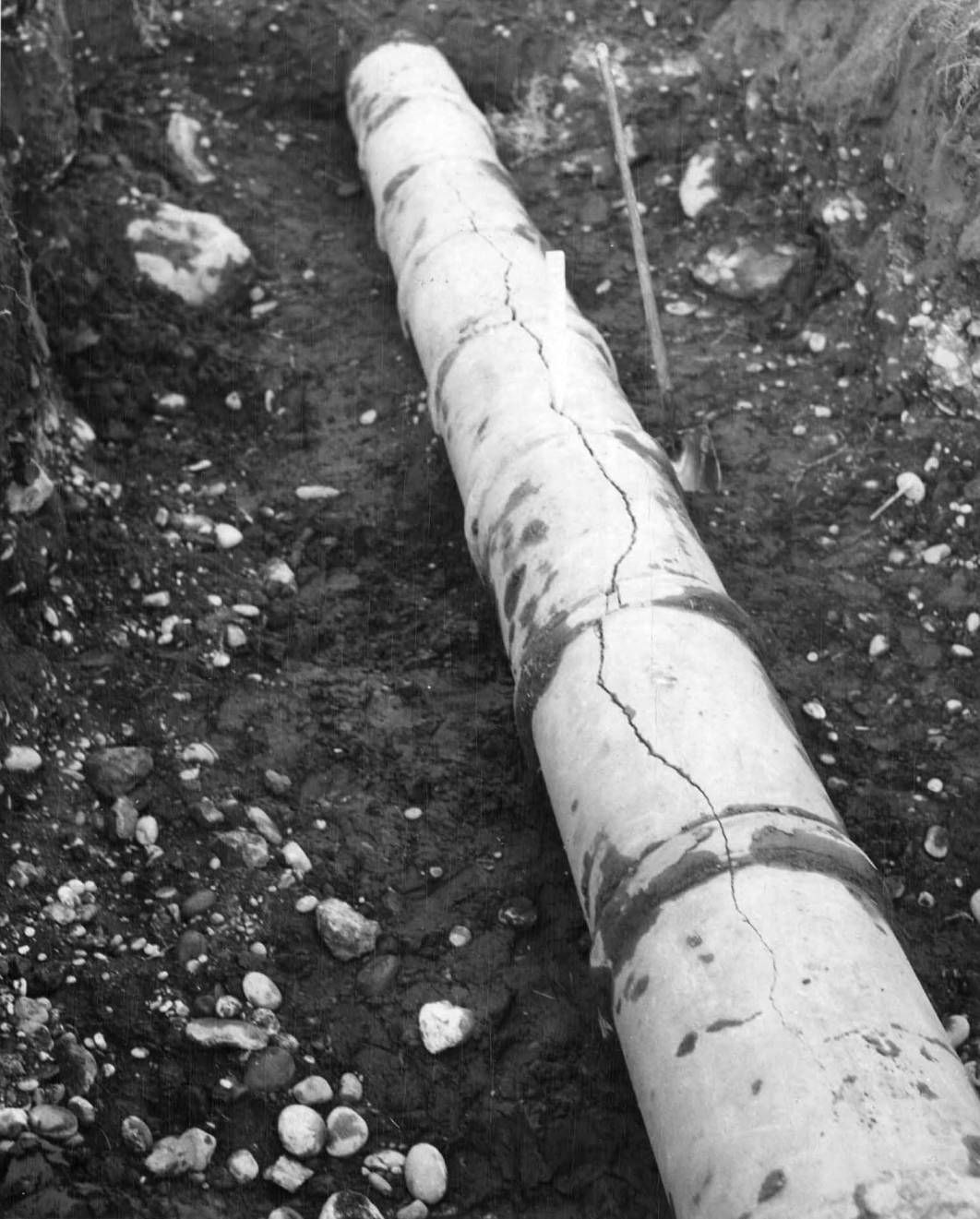 item thumbnail for Cracked Irrigation Pipe (Farm development)
