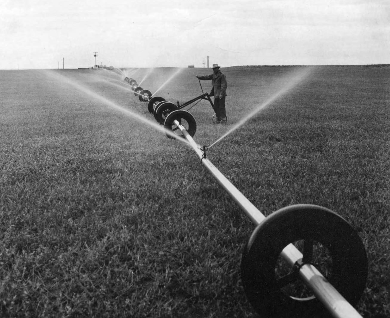 item thumbnail for Wheeled Sprinkling System (Farm development)