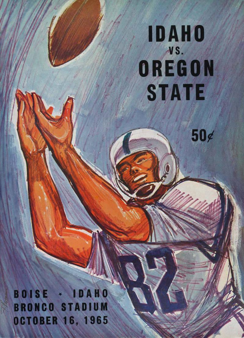 item thumbnail for Football Program: Idaho vs Oregon State, 10/16/1965, Bronco Stadium, Boise (Idaho)