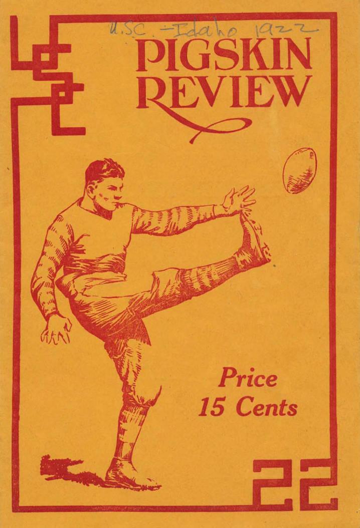 item thumbnail for Football Program: Idaho vs University of Utah, 11/18/1922, Neale Stadium, Moscow (Idaho)