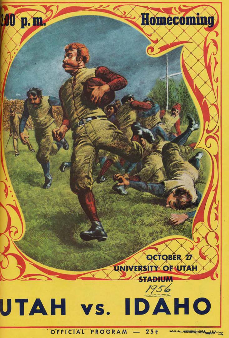 item thumbnail for Football Program: Idaho vs University of Utah, 10/27/1956, University of Utah Stadium, Salt Lake City (Utah)