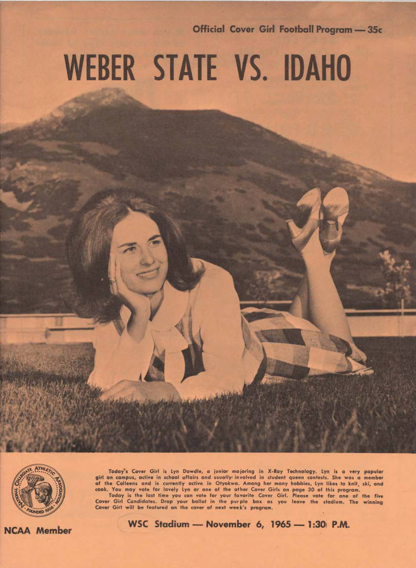 item thumbnail for Football Program: Idaho vs Weber State College, 11/06/1965, Wildcat Stadium, Ogden (Utah)