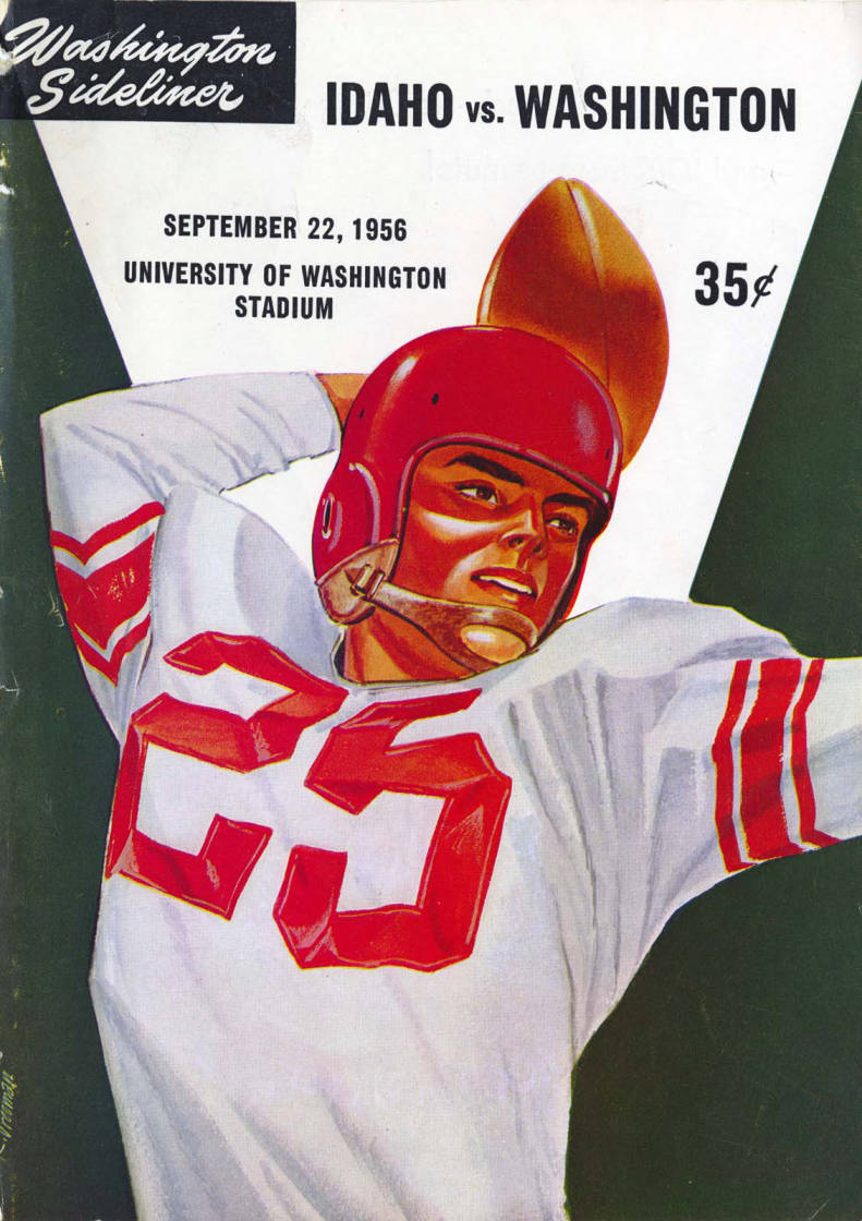 item thumbnail for Football Program: Idaho vs Weber State College, 09/22/1956, University of Washington Stadium, Seattle (Washington)