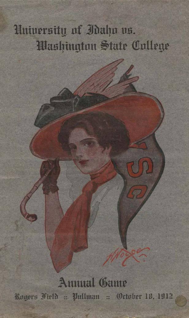 item thumbnail for Football Program: Idaho vs Washington State University, 10/18/1912, Neale Stadium, Moscow (Idaho)
