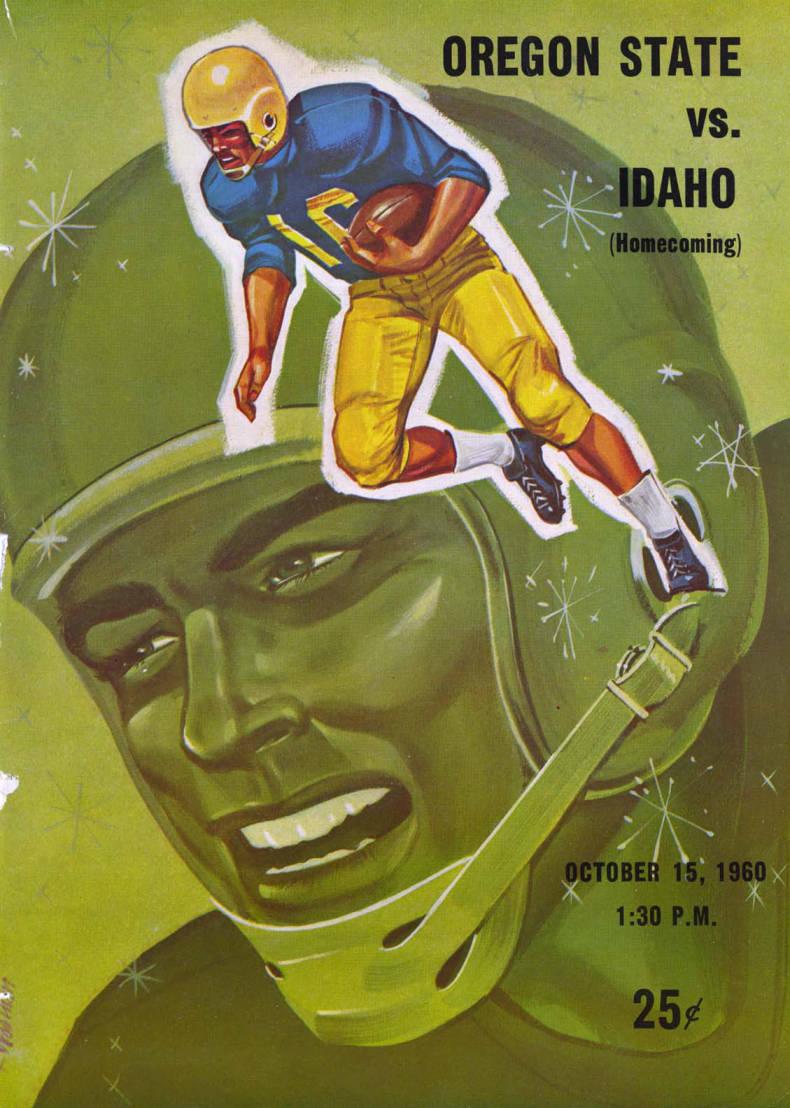 item thumbnail for Football Program: Idaho vs Oregon State, 10/15/1960, Neale Stadium, Moscow (Idaho)