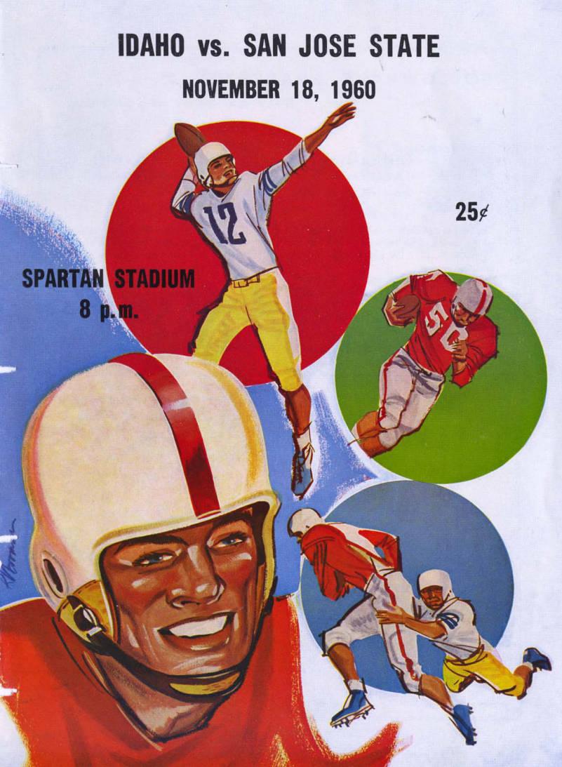 item thumbnail for Football Program: Idaho vs San Jose State, 11/18/1960, Spartan Stadium, San Jose (California)