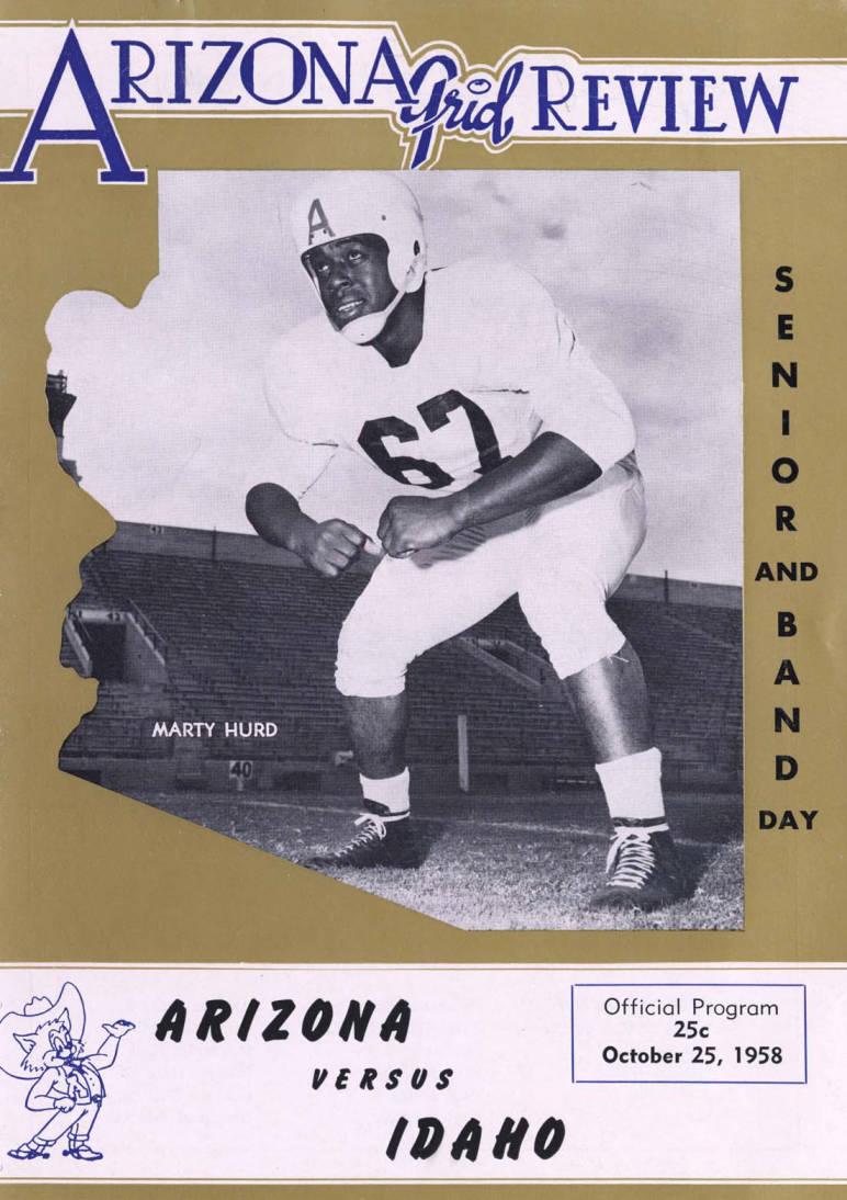 item thumbnail for Football Program: Idaho vs University of Arizona, 10/25/1958, Tucson (Arizona)