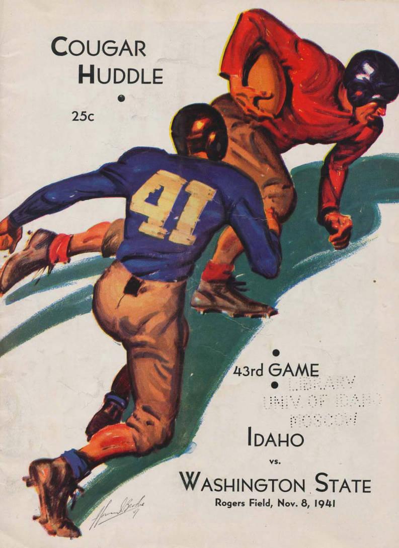 item thumbnail for Football Program: Idaho vs Washington State University, 11/08/1941, Rodgers Field, Pullman (Washington)